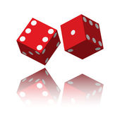 Two dice — Stock Photo