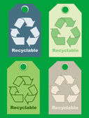 Recycle signs — Stock Photo