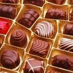 Chocolate bon bons — Stock Photo #8053942