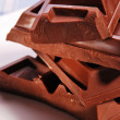 Blocks of Chocolate — Stock Photo