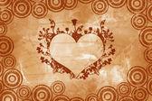 Valentine vintage heart — Stock Photo