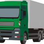 Vector truck — Stock Vector #8031247