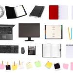 Geschäfts- und Bürobedarf — Stockvektor