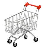 Vector illustration of a shopping cart — Stock Vector