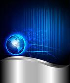 Абстрактный фон технологии. Векторные иллюстрации — Cтоковый вектор