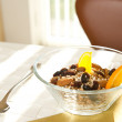 Stock Photo: Bowl of muesli