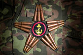 Marines star. Close view — Stock Photo
