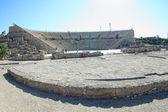 Caesarea amphitheater. Israel — Stock Photo