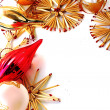 Foto de Stock  : Background of Christmas decorations