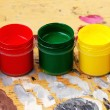 Stock Photo: Color paints