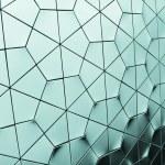 Hexagon Grid Background — Stock Photo