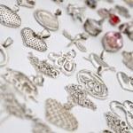 Silver Accessories — Stock Photo
