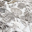 Silver Accessories — Stock Photo