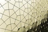 Fond de grille hexagonale — Photo