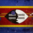 Grunge Flag Swaziland — Stock Photo #8594126