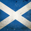 Grunge Flag Scotland — Stock Photo