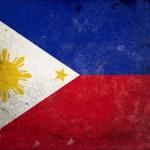 Grunge Flag Philippines — Stock Photo