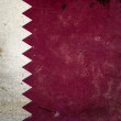 Grunge Flag Qatar - Stock Photo