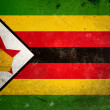 Grunge Flag Zimbabwe — Stock Photo #8607789