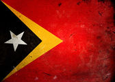 Grunge Flag Timor Lesta — Stock Photo