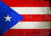 Grunge bandera de puerto rico — Foto de Stock