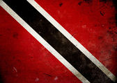 Grunge Flag Trinidad and Tobago — Stock Photo