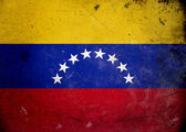 Grunge Flag Venezuela — Stock Photo