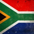 Grunge Flag South Africa — Stock Photo