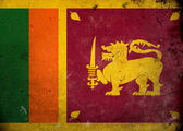 Grunge Flag Sri Lanka — Stock Photo