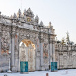 Royalty-Free Stock Photo: Dolmabahce Palace Gate
