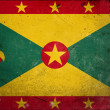 Grunge Flag of Grenada — Stock fotografie