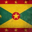 Royalty-Free Stock Photo: Grunge Flag of Grenada