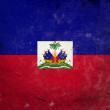 Grunge Flag of Haiti — Stock Photo #8668036