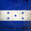 Grunge Flag of Honduras — Stock Photo