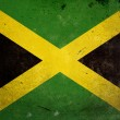 Grunge Flag of Jamaica — Stock Photo