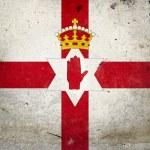Grunge Flag Northern Ireland — Stock Photo