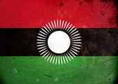 Grunge Flag the Malawi — Stock Photo