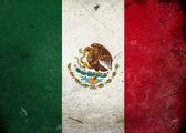 Grunge bayrak meksika — Stok fotoğraf