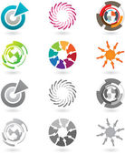 Collection of modern icons — Stock Vector