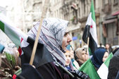 Syrians Protesting — Stock Photo