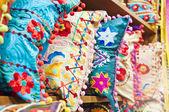 Traditional Turkish Pillows — Stock Photo
