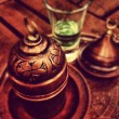 Turkish Coffee Service — Foto Stock