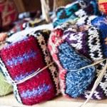 Homemade Turkish Socks — Stock Photo