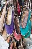 Sapatos de couro autêntico de turco — Foto Stock
