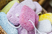 Pumice basket — Stock Photo