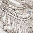 Silver Necklace — Stock Photo