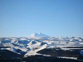 Elbrus mountain highest peak of Europe. Panorama — Stock Photo