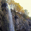 Honey waterfalls. North Caucasus travels. Autumn — Stock Photo #9700148