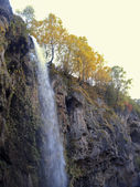 Honey waterfalls. North Caucasus travels. The Autumn — Stock Photo
