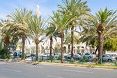 King Hussein Street in Aqaba — Stock Photo